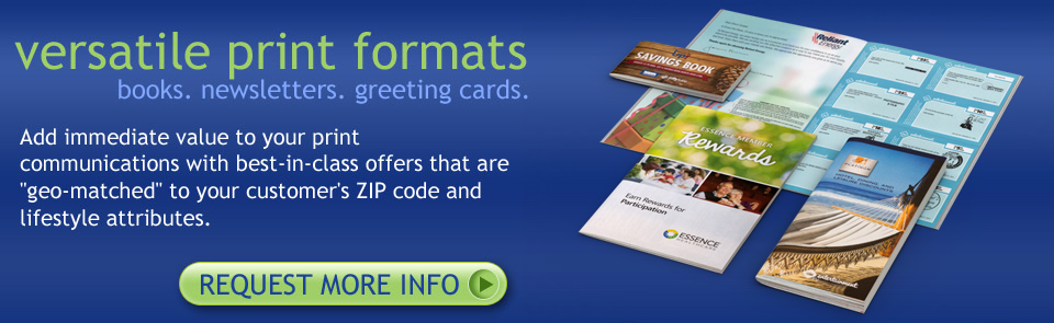 versatile print forms - books. newsletters. greeting cards.
