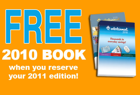 FREE 2010 Book when you reserve your 2011 edition!
