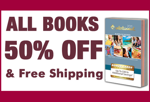 All Books 50% Off & Free Shipping